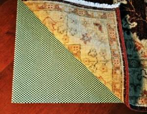 waffle style rug pad