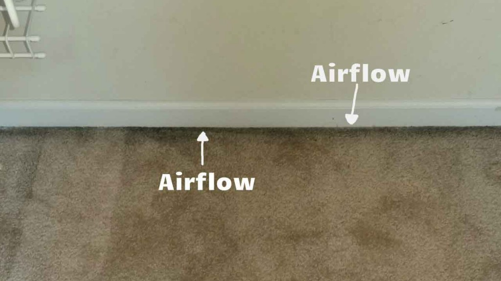 airflow carpet filtration soiling howell mi